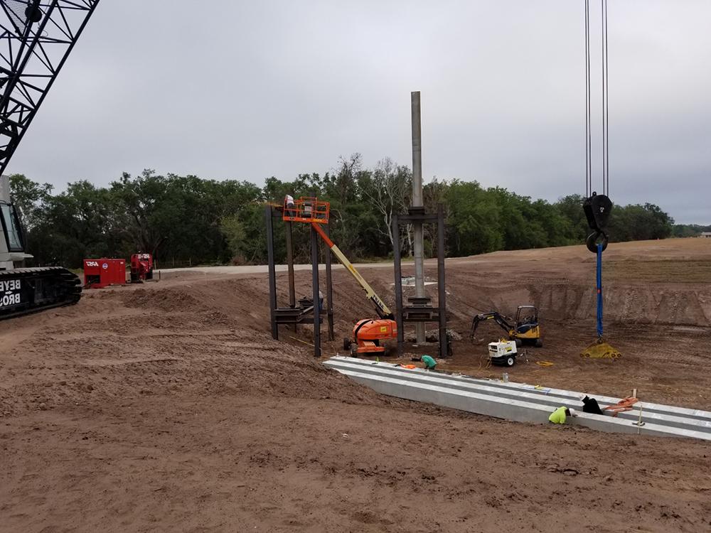 concrete piling services