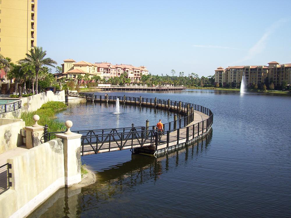 floating dock construction