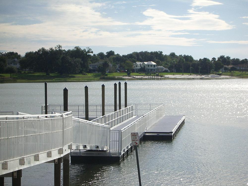 floating dock contractors fender marine construction