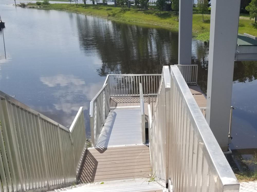 central florida floating dock builder