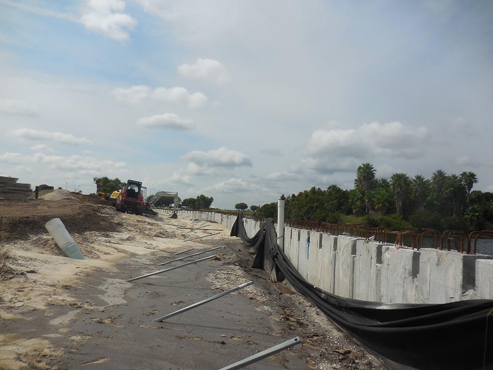 commercial seawall contractors fender marine construction