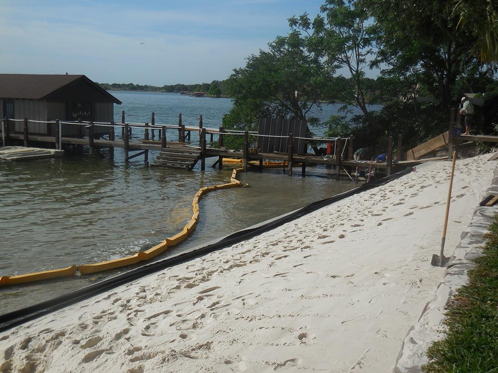 residential seawall contractors fender marine construction