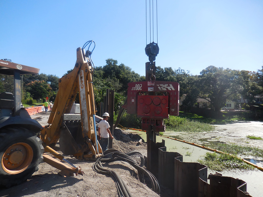steel sheet piling contractors central florida