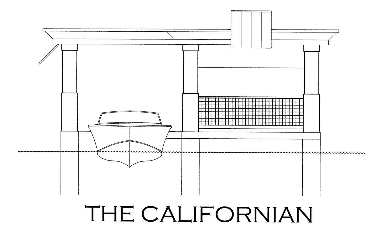 the californian boathouse design