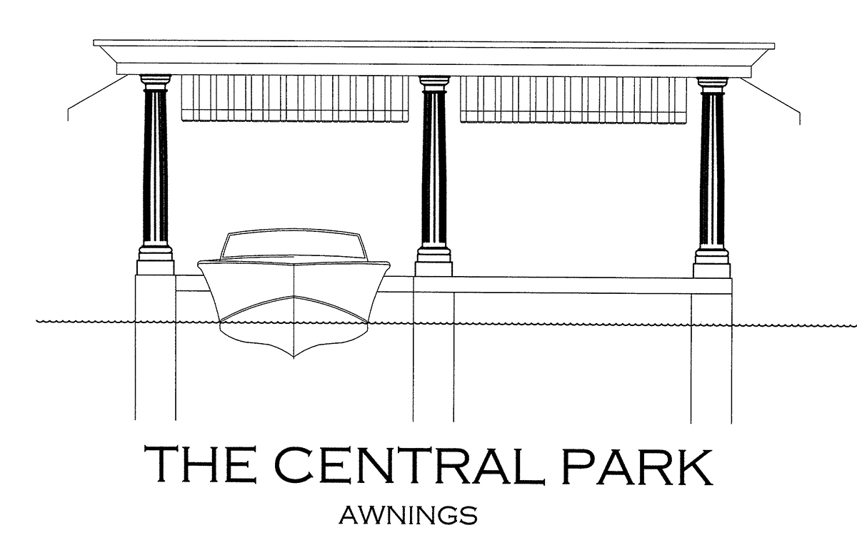 The Central Park Awnings Boathouse Design
