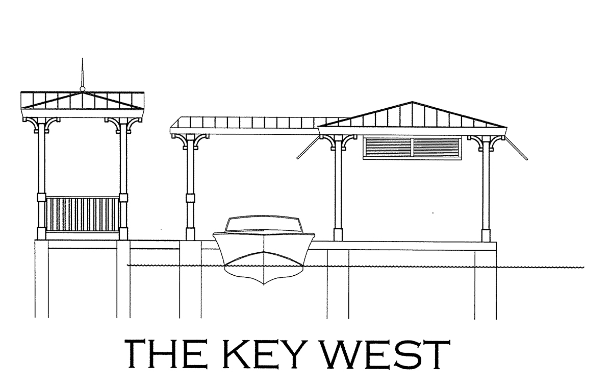 The Key West Boathouse Design