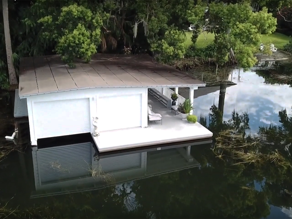 after dock replacement