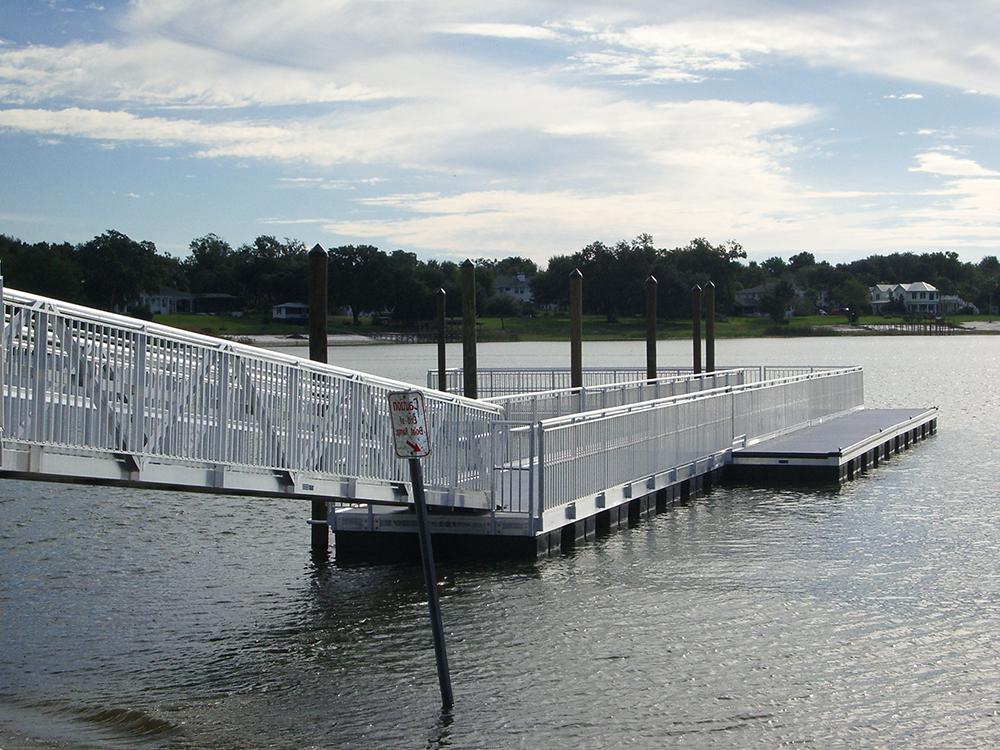 aluminum floating dock contractors