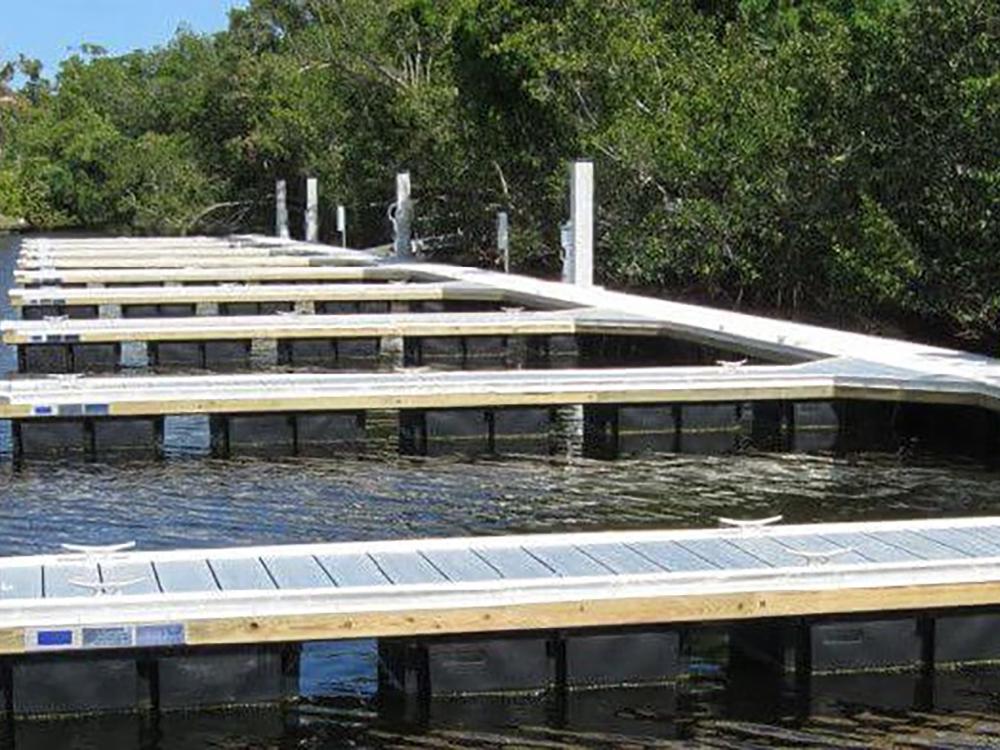 aluminum floating dock fender marine construction