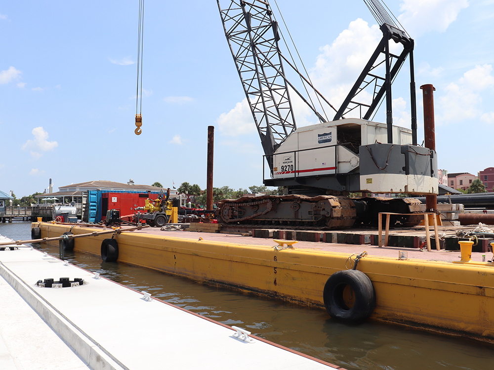 marina maintenance and repair services fender marine construction