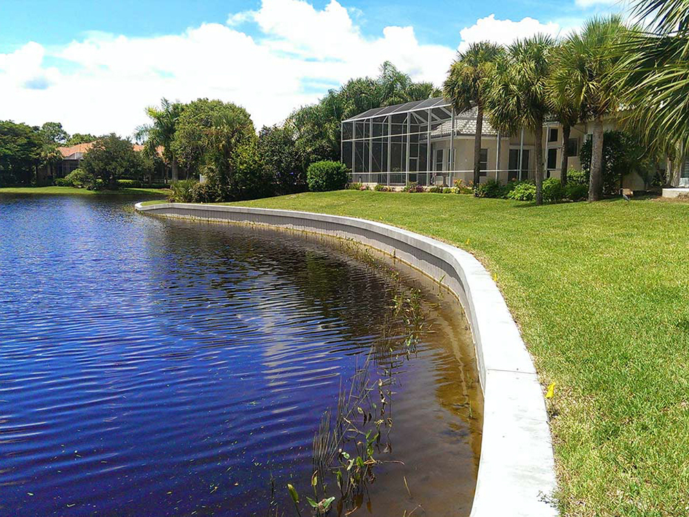 vinyl seawall construction services in central florida
