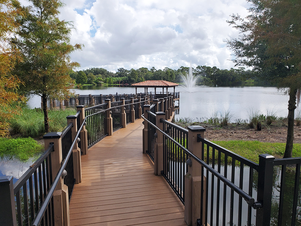 pier ideas for a lake or pond