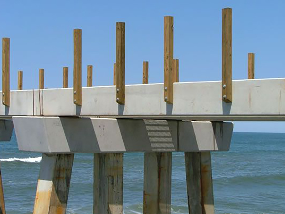 what is concrete piling