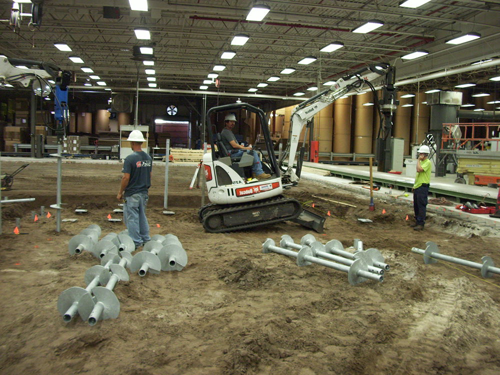 benefits of helical pile installation