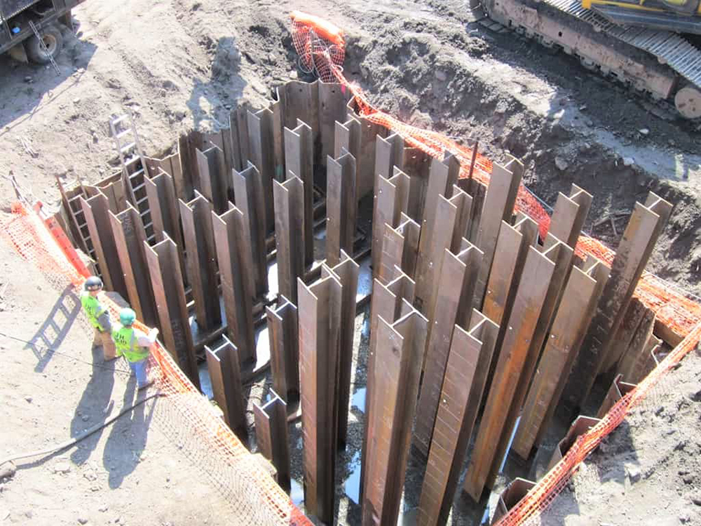 h pile beams cost