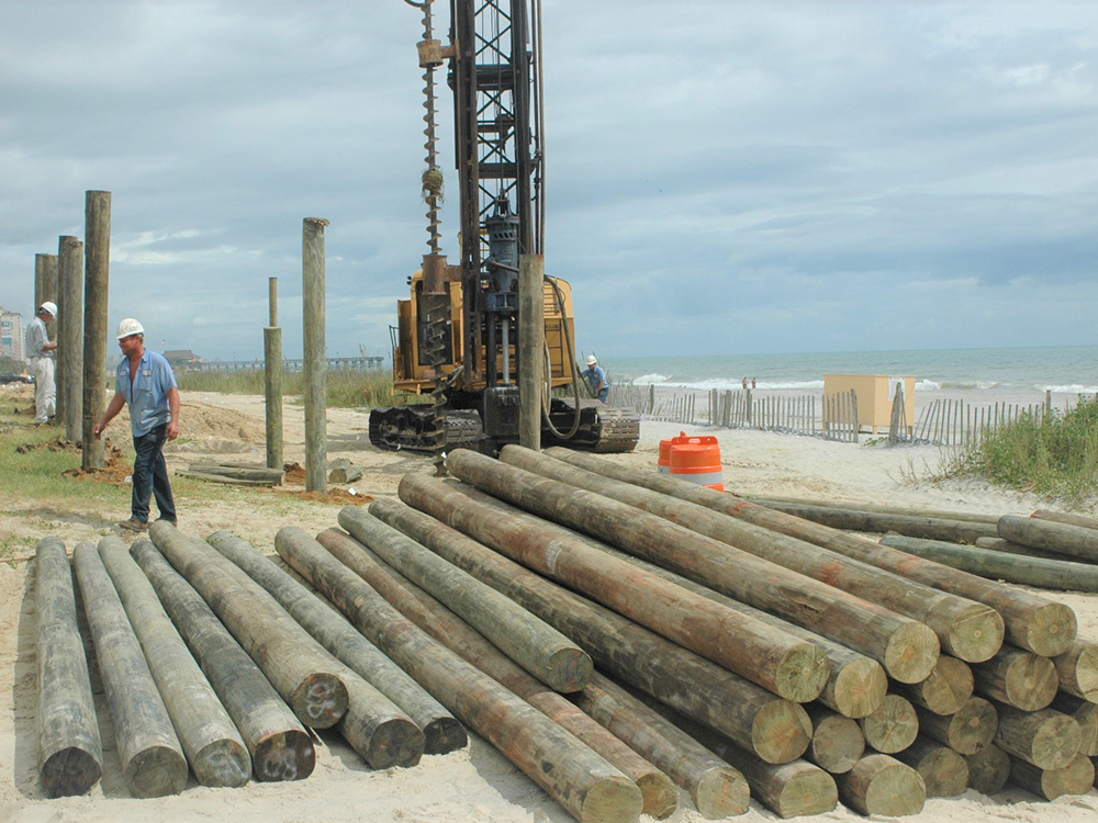 how long do timber piles last