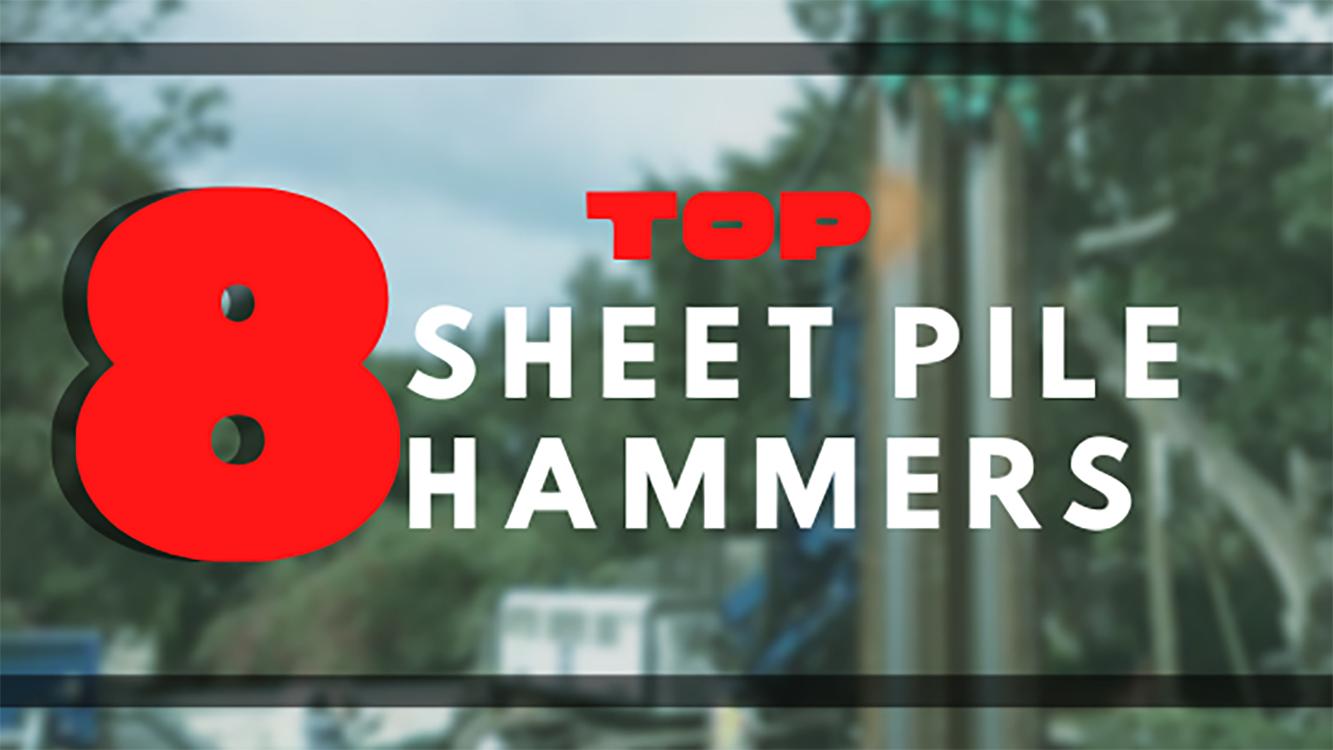 sheet pile hammers