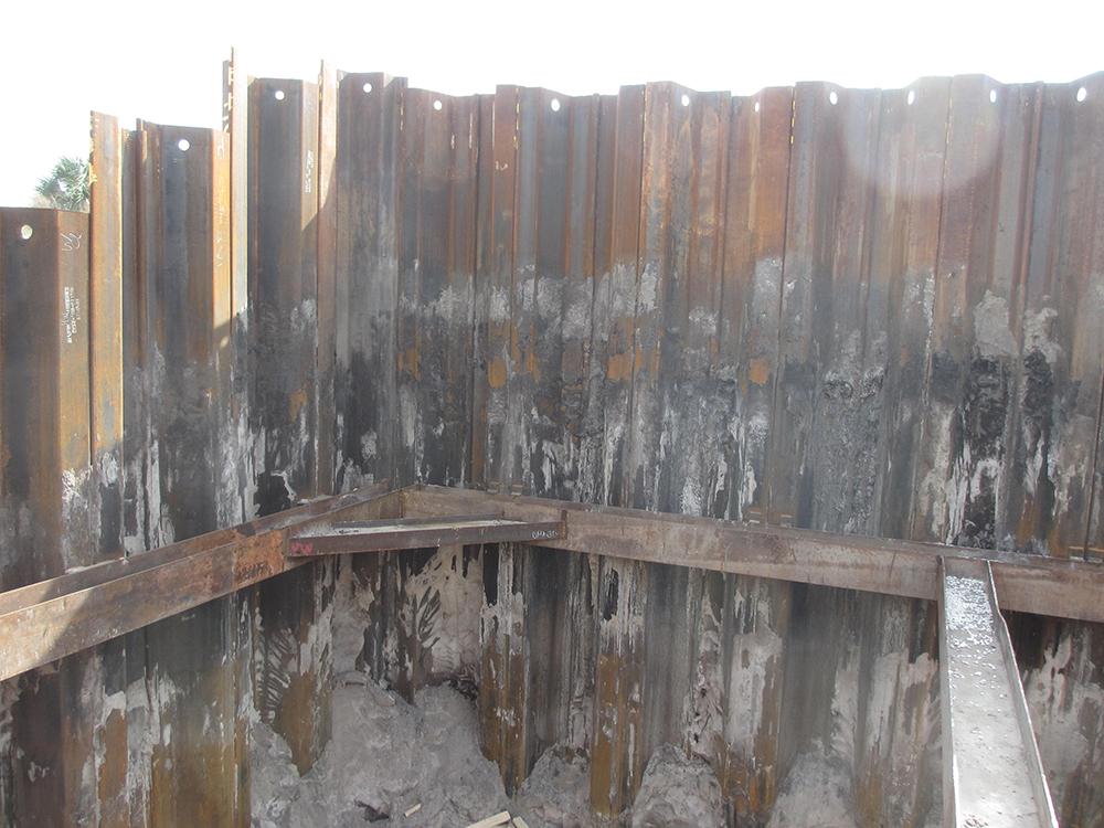 steel sheet pile driving contractors