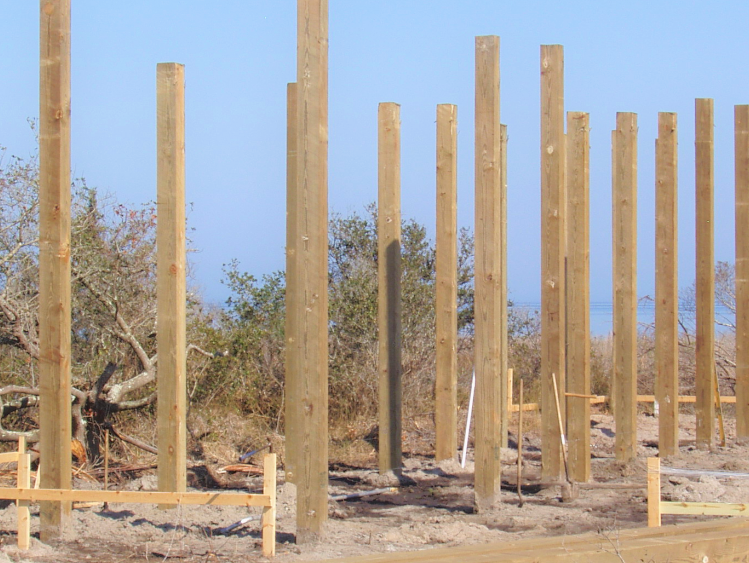 timber pile driving services