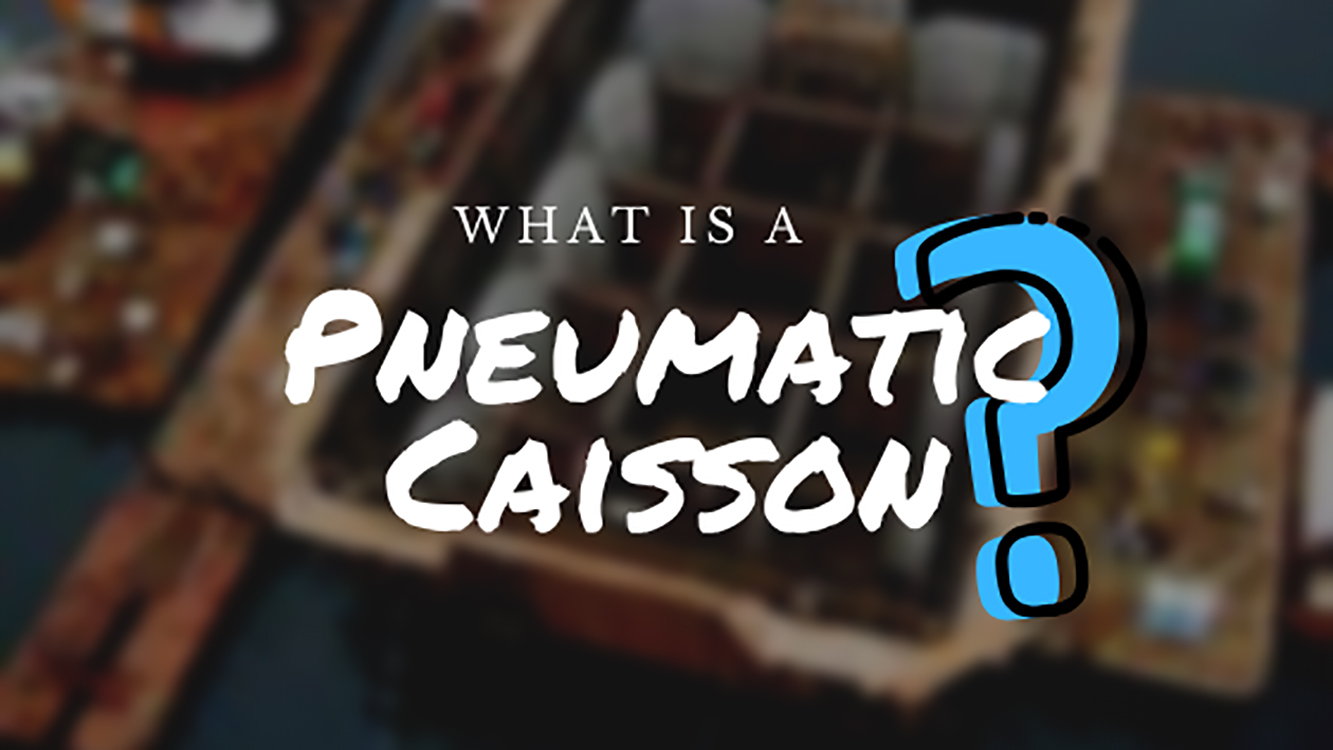what is a pneumatic caisson