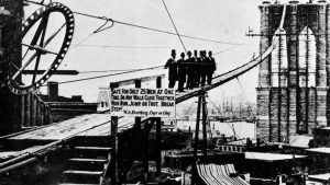 working in the brooklyn bridge caissons