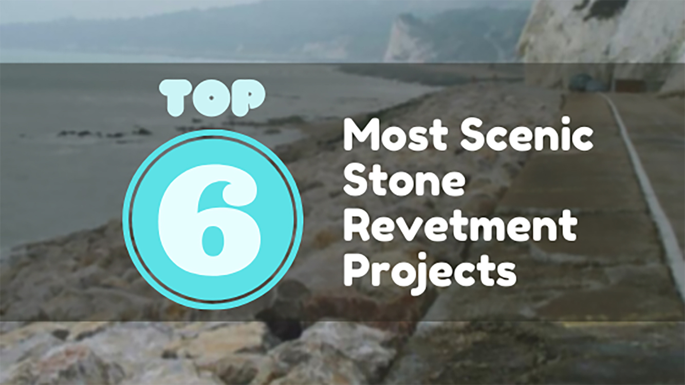 Most Scenic Stone Revetment Projects