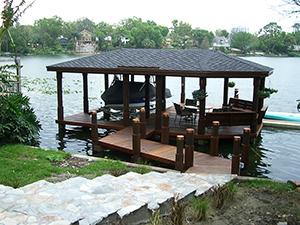 boathouse builders fender marine construction
