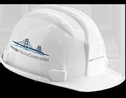 fender marine construction hard shell hat