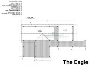 residential dock plan design the eagle