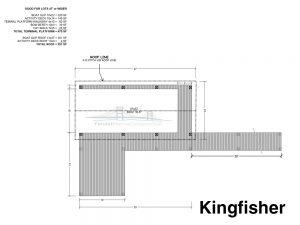 residential dock plan design the kingfisher