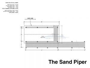 residential dock plan design the sand piper