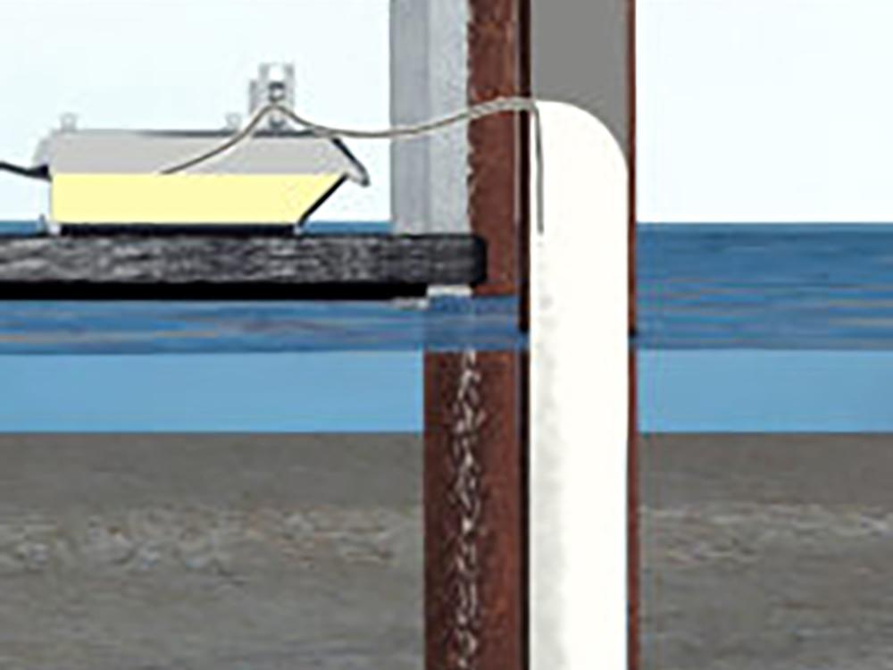 carbosleeve marine pile repair